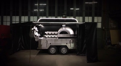 Mobile pizza kitchen