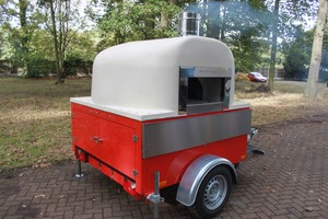 Phoenix Wood fired pizza trailer