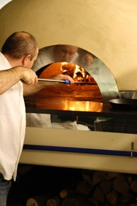 Commercial wood fired oven